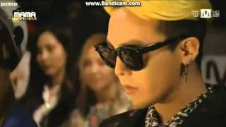 getlinkyoutube.com-131122 MAMA- GD watching EXO performance