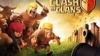 Clash Of Clans #1 - Avoir Son Roi Des Barbares Rapidement HDV7 ( TH7 )