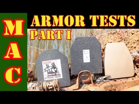 Armor Plate Tests : Part I