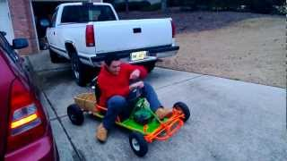 getlinkyoutube.com-Predator 212 on Go Kart
