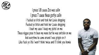 getlinkyoutube.com-Lil Durk - Perky's Callin (Lyrics)