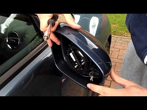 Peugeot RCZ door mirror creek fix - mirror removal and installation guide