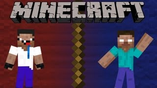 getlinkyoutube.com-If a Noob Killed Herobrine - Minecraft Machinima