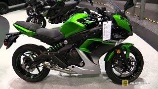 getlinkyoutube.com-2016 Kawasaki Ninja 650 - Walkaround - 2015 AIMExpo Orlando