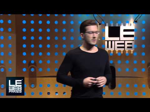 Alexander Ljung, CEO of SoundCloud Shows off New Features at LeWeb Paris 2012