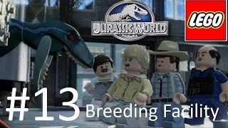 getlinkyoutube.com-Jurassic World Lego Game Level 13: Breeding Facility Gameplay Walkthrough  By WD Toys