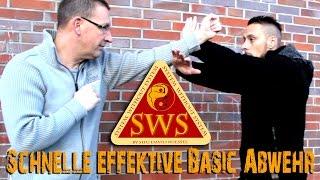 Schnelle effektive Basic-Abwehr in der Selbstverteidigung