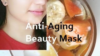 getlinkyoutube.com-Anti-Aging Mask - Instant Firming, Lifting & Whitening Skin