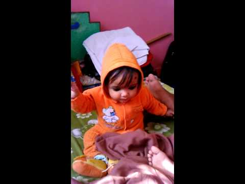 Cute laughing baby srishti