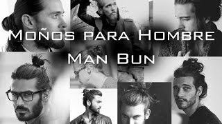 getlinkyoutube.com-Moño para hombre / Man bun Men's Long Hairstyle / Chongo / Jared Leto - Harry Styles