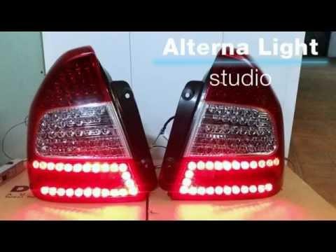 Hyundai Accent светодиодные фонари