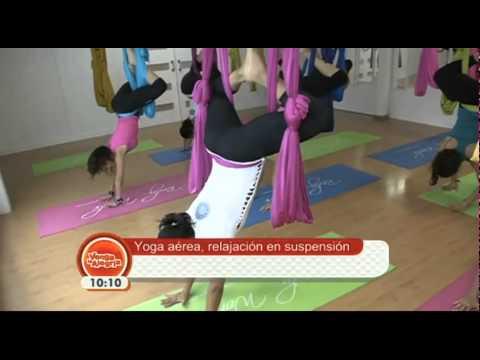 Yoga Aéreo en Venga la Alegria (Video Completo)