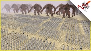 getlinkyoutube.com-CLONES vs RANCORS - Star Wars: Galaxy at War MOD