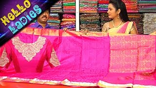 getlinkyoutube.com-Special Bridal Collection Of Pattu & Pettubadi Sarees With Low Cost || Hello Ladies|| Vanitha TV