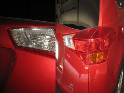 Замена задних ламп в Toyota RAV4 Своими Руками!