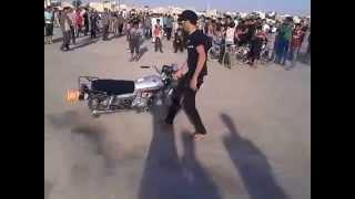 getlinkyoutube.com-استعراض دراجه ايرانيه في النجف