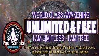 getlinkyoutube.com-3D SOUND 1000's Of Positive Affirmations Meditation Awaken Energy Vibration Luck Health Paul Santisi
