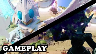 Skylanders Superchargers - Knight Light & Knight Mare GAMEPLAY