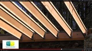getlinkyoutube.com-Maison ossature bois, poutre en I, poutre bois, plancher bois, wood frame house, wood beam