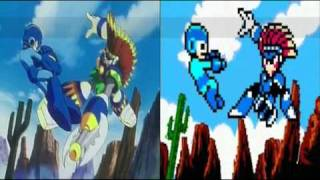 getlinkyoutube.com-Comparison Megaman 8 Intros