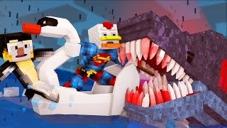 Jaws Movie - Killing The Shark! (Minecraft Roleplay) #3