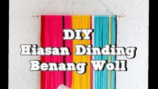 getlinkyoutube.com-DIY kerajinan tangan Hiasan Dinding Benang Woll (in Boso Jowo)