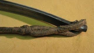 getlinkyoutube.com-Gothic medieval crossbow bowstring Part 2/2 -  Armbrust Gotischer Sehnenknoten Part 2/2