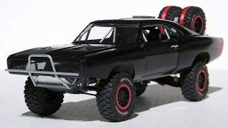getlinkyoutube.com-1/25 Scale Furious Seven 1970 Off-Road Charger - Finished Model