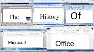 getlinkyoutube.com-The History of Microsoft Office