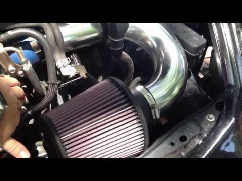 Short Ram Air Intake & Exhaust on a 2003 Toyota Celica GT