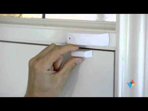 Schlage Home Door/Window Sensor Installation