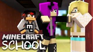 getlinkyoutube.com-Minecraft School - LITTLE LIZARD'S GIRLFRIEND GETS BULLIED!?