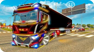 getlinkyoutube.com-DAF EVO WING ETS2 (Euro Truck Simulator 2)