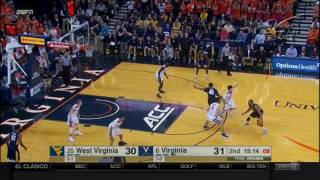getlinkyoutube.com-Men's Basketball: Virginia Highlights | 12/3/16