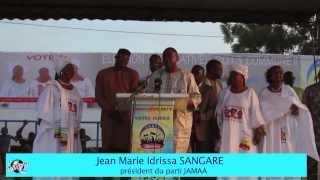 Allocution du president Jean Marie Idrissa Sangare au Meeting geant du parti JAMAA