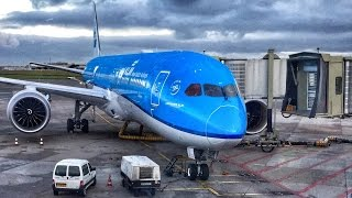 getlinkyoutube.com-KLM Dreamliner in Business Class - Finally! #KLM