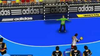 getlinkyoutube.com-Handball Simulator - Handball Evolution Patch 2011' World Cup
