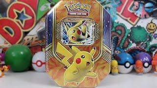 getlinkyoutube.com-Opening A Pokemon Pikachu EX Tin!!
