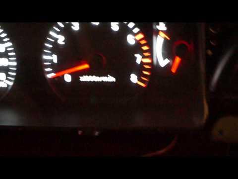 Пересвет приборной панели Mitsubishi Pajero Sport