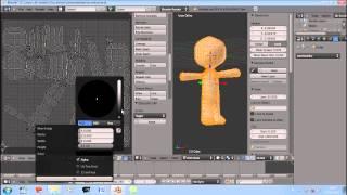 getlinkyoutube.com-membuat Model 3d, teksture sampai riging di Blender