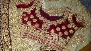 Lehenga choli cutting and stitching