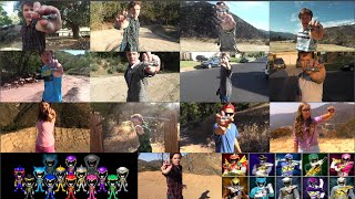 getlinkyoutube.com-Power Rangers Dino Super Charge All Morphs