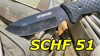 getlinkyoutube.com-Schrade SCHF51: Full Review