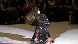 getlinkyoutube.com-Moroccan DANCE( Ayanna Raqs) Belly dance Trophies Semi-finals!