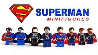 getlinkyoutube.com-LEGO Superman Man of Steel KnockOff Minifigures (Bootleg)