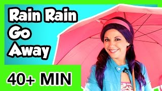 Rain, Rain, Go Away and More Kids Songs Videos | Popular Nursery Rhymes Collection