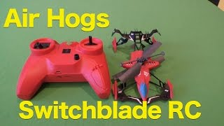 Air Hogs Switchblade Ground and Air Race RC Heli Toy Review, Car and Heli Combo