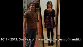 getlinkyoutube.com-Just Another Transition Video - 1yr HRT [mtf]