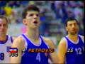 Drazen Petrovic 1989 Eurobasket final Yugoslavia - Greece