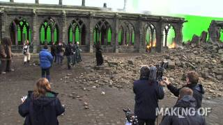 getlinkyoutube.com-On set for the final chapter of 'Harry Potter and the Deathly Hallows: Part 2'